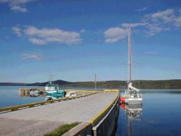 Port Blandford Wharf